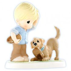 Precious Moments knows the unconditional devotion and love Dogs show to us; this figurine is Titled: Sole Mates. Precious Moments Wedding, Precious Moments Figurines, Cute Love Images, Dog Show, Collectible Figurines, Dear Santa, Disneyland, Teddy Bear, In This Moment