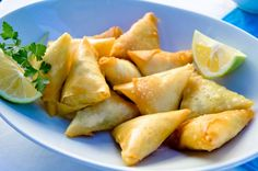 Cape Malay samoosas - favourite picnic food in Cape Town ♥ (to use with fake beef!)