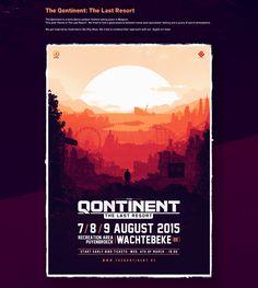 The Qontinent on Behance