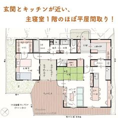 House Layout Plans, House Layouts, House Plans, Narrow House, Japanese Architecture, Japanese House, My House, Sweet Home, Floor Plans