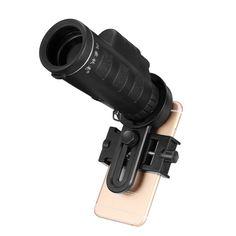 Universal 10X Zoom 1200m 8000m Waterproof Clip Phone Telescope Camera Lens Hiking Concert Telescope