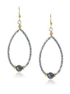 fec7b3109 OFF Robindira Unsworth Eagle Eye Teardrop Hoop Earrings. Jill Alberts  Jewelry