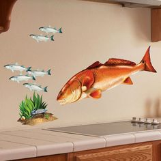 Redfish Wall Decal / Red Drum