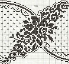 Crochet Doily Patterns, Crochet Doilies, Crochet Lace, Cross Stitch Patterns, Freeform Crochet, Filet Crochet, Irish Crochet, Chart Design, Embroidery