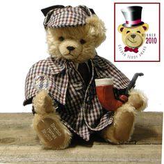 Sherlock HolmesGolden Teddy Award 2010 Winner - Artikeldetailansicht - HERMANN Coburg Teddy Bears / Schildkroet Dolls - eShop All Made in Germany
