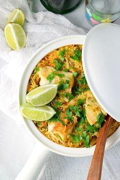 One Pot Fish Paella | Naive Cook Cooks