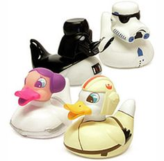 Star Wars rubber ducks