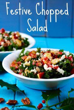 Festive Chopped Salad