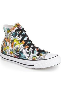 Converse Chuck Taylor® All Star® 'Floral' High Top Sneaker (Women) available at #Nordstrom