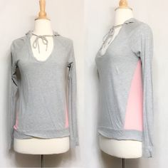 Victoria's Secret Hoodie Super soft VS hoodie! Lightweight fabric. Size XS but could work for a small too 😊 Victoria's Secret Tops Sweatshirts & Hoodies