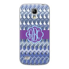 Samsung Galaxy S4 Mini Crochet Monogram Case