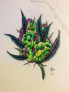 r/trees - I ran out so I drew some instead. Need to trim. Weed Tattoo, Marijuana Art, Desenho New School, Dessin Old School, Tattoo Drawings, Body Art Tattoos, Art Drawings, Graffiti Drawing, Psychedelic Art