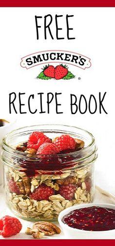 Get a #Free Smuckers Breakfast #Recipe Book! #freebies #food