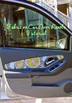 Car Door Panel Tutorial Now I Need To Find A Cool Fabric