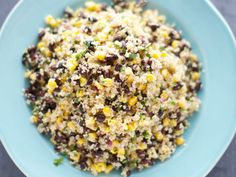 Quinoa, Corn and Bla