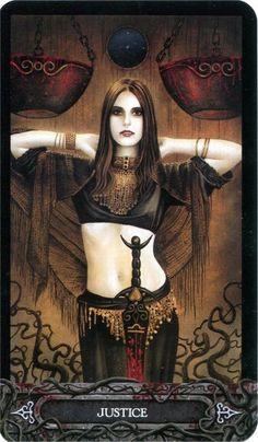 Album Archive - Tarot of Vampires by Ian Daniels Vampire Pictures, Gothic Pictures, Gothic Vampire, Vampire Art, Carmilla, Justice Tarot, Beautiful Dark Art, Tarot Astrology, Tarot Major Arcana