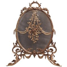 Dore Bronze Fire Place Screen   From a unique collection of antique and modern screens at http://www.1stdibs.com/furniture/more-furniture-collectibles/screens/