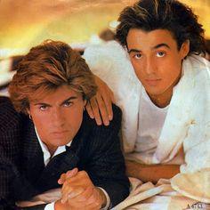 George Michael and Andrew Ridgeley of Wham! Wham Songs, Guilty Pleasure Songs, Pop Internacional, Rock & Pop, Rock Roll, Andrew Ridgeley, George Michael Wham, Pochette Album, 80s Music