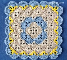 MyPicot | Free crochet patterns http://www.pinterest.com/teretegui/•❁ ✿⊱╮Teresa Restegui http://www.pinterest.com/teretegui/✿⊱╮
