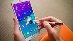 """Samsung Note 4 Una calidad de pantalla excepcional (Pantalla Quad HD Super AMOLED) La pantalla Quad HD Super AMOLED de 5,7"""""""