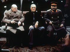 1945 Yalta Conference at Livadia Palace - Yalta, Ukraine