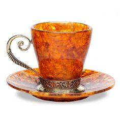 Coffee Jewels | Amber Coffee Set Antique [002071] - $490.00 : Hermitage Museum Online ...