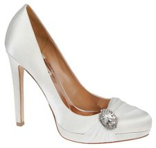 Diamond White Badgley Mischka Odell Bridal Shoes