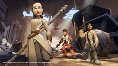 'Star Wars: The Force Awakens' Disney Infinity Trailer