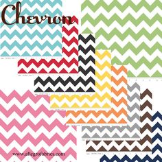 Chevron Zig Zag Fabric 2 cm Wide RB medium size by AllegroFabrics, $10.00