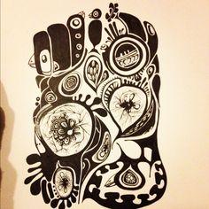 love this marker art