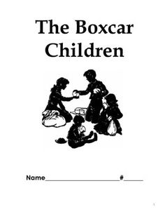Free Boxcar Children Resources: Lapbooks, Printables