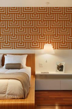 Squares and Rhombus Shapes, Adhesive Wallpaper, Removable Wallpaper, Geometric Lines, Repositionable Wall Sticker