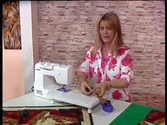 Carolina Rizzi  - Bienvenidas TV - Realiza un Centro de Mesa en Patchwor...