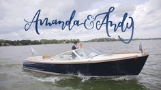 Amanda and Andy's wedding day was full of meaningful touches. The couple's ceremony took place at the groom's childhood home. All of Amanda and