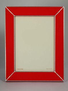 #portafoto in legno, colore #rosso. Moderno. Artigianato Italiano