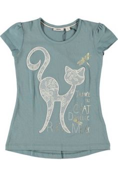 Mexx Kids Girls Cat Tee