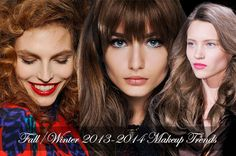 Fall/ Winter 2013-2014 Makeup Trends - Fashion Trends, Makeup Tutorials, Hairstyles and Style Secrets