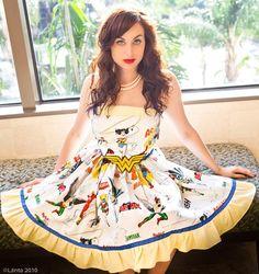 wonder woman dresses | Wonder Woman comic Dress