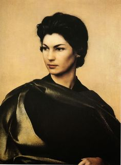 LARGE SIZE PAINTINGS: Pietro ANNIGONI Portrait of a Lady
