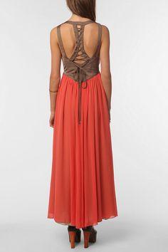 ERA By Kymerah Midnight Spells Dress  #UrbanOutfitters