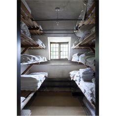 """""""The Hons' Cupboard"""" (aka the linen closet) at Asthall Manor - scene of many strategic young Mitford meetings."""