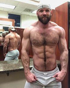Hairy mature big butt