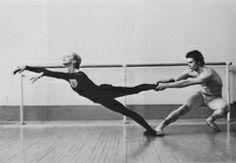 Alla Osipenko with John Markovsky, ca. 1970s