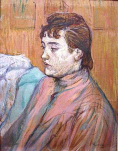 Portrait of a Prostitute 1893, by Henri de Toulouse-Lautrec
