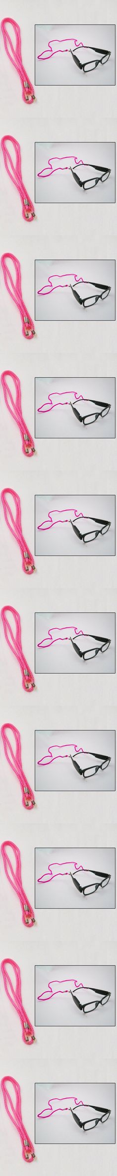 195a45c75a0 Sunglass Eyewear Braided Nylon Neck Cord String Retainer Strap Lanyard  Holder Pk