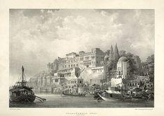 Dusaswumedh Ghat. Benares