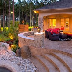 "Explore our web site for additional details on ""patio pavers on a budget"". It is actually an exceptional spot to learn more. Outdoor Patio Pavers, Paver Walkway, Backyard Patio, Pergola Patio, Curved Patio, Patio Stairs, Backyard Swings, Cement Patio, Patio Privacy"