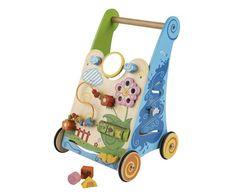 Primi Passi Vozítko na hraní - Louka #vánoce #dárek #narozeniny #svátek #nejmenší #oslava #děti #rodina #hračky #3dmámablog.cz
