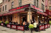 Lasagna Restaurant, NYC, Monday12:00 – 11:30 pm Tuesday12:00 – 11:30 pm Wednesday12:00 – 11:30 pm Thursday12:00 – 11:30 pm Friday12:00 pm – 12:00 am Saturday12:00 pm – 12:00 am Sunday12:00 – 11:30 pm