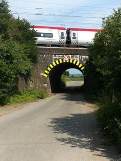 Mentmore Bridge (previously known as Bridego Bridge and then Train Robbers' bridge), scene of the robbery